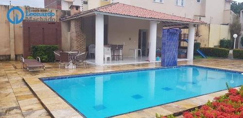 Casa Com 4 Dormitórios À Venda, 138 M² Por R$  - Sapiranga - Fortaleza/ce - Ca0043