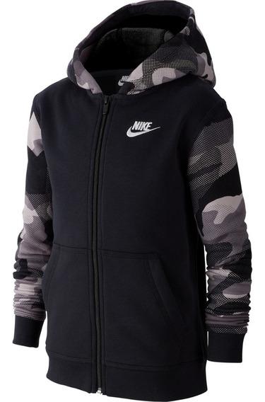 Sudadera Nike Con Cierre Manga Larga Niños Bv4496