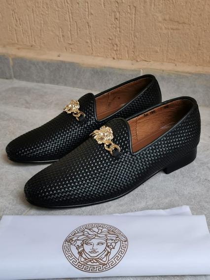 Mocasines Zapatos Slippers Loafers Gucci Versace Nuevos =))