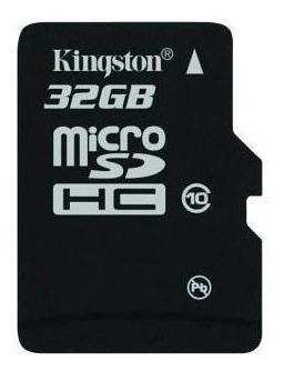 Cartão De Memória Kingston 32gb Original + Brinde Adaptador
