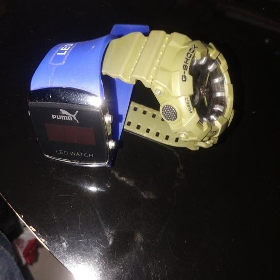 Relógios Infantil Puma Digital G-shoock A Prova D