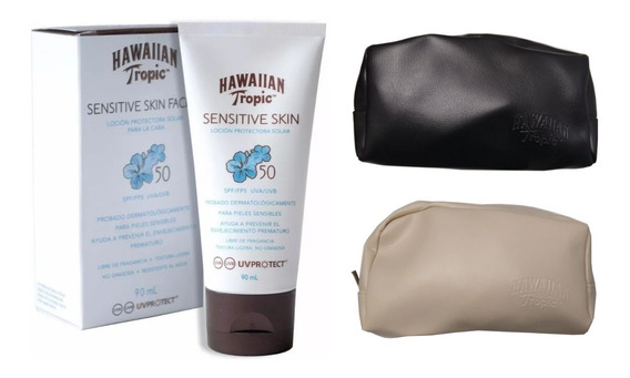 Protector Solar Facial Hawaiian Tropic Sensitive 50 Spf 90ml