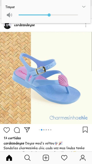 Sandalia Charmosinha Chic