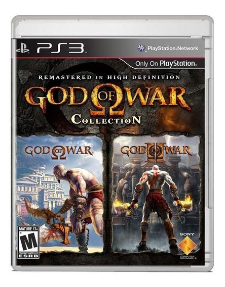 God Of War Collection Capa Reimpressa Ps3 Midia Fisica