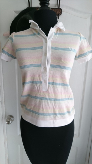 Hermosa Camisa Polo Vintage