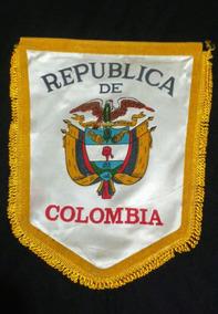 Flâmula República De Colômbia Antiga.medidas 25x30.