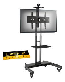 Rack Móvel Para Tv Pedestal Suporte De 32 A 75 - A06v6 Elg