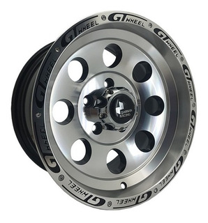 Rines 15 5/114 Ford Ranger Toyota Hilux Tipo Off Road Set 4