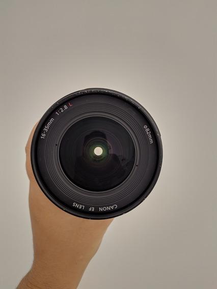 Lente Canon 16-35 F 2.8 - Usada