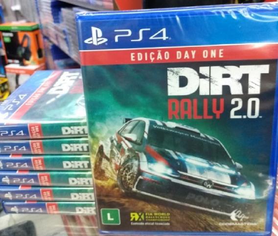 Dirt Rally 2.0 Ps4 Mídia Física Novo Original Lacrado