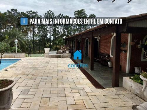 Ch0011 - Chácara Com 5 Dormitórios À Venda, 10300 M² Por R$ 2.000.000 - Tupinamba - Porto Feliz/sp - Ch0011