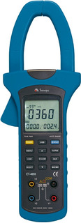 Alicate Wattímetro Trifásico Fasímetro Minipa Et-4055a