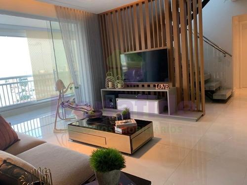 Imagem 1 de 30 de Linda Cobertura Duplex A Venda, Edifício  Infinity, Retiro, Jundiaí. - Ap11310 - 67665747