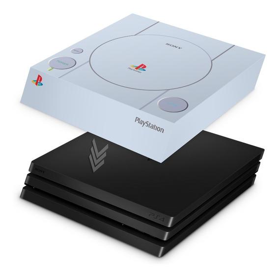 Capa Ps4 Pro Anti Poeira Playstation 4 Sony Playstation 1
