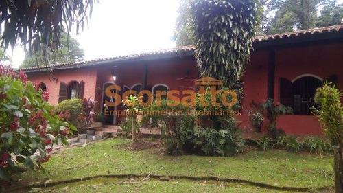 Imagem 1 de 12 de Chácara Para Locação, Parque Yara Cecy, Itapecerica Da Serra/sp - 580