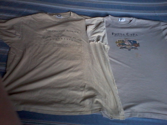 Remeras Lote 2 Matilda Bay+ Custom Usa Xl Importadas Envios