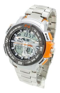 Reloj Mango Hombre 1636 Analógico Digital Crono Wr30 Fecha