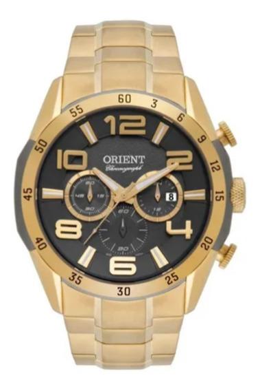 Relógio Orient Masculino Dourado Sport Original