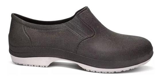 Sapato Cozinha Industrial Antiderrapante Com Ca Limpeza