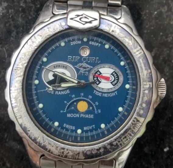 Relógio Rip Curl Tidemaster Diver Moon Phase C/ Caixa