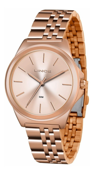 Relogio Lince Feminino Lrr4428l R1rx Rose Gold Oferta