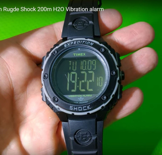 Timex Expedition Shock 200mh2o Vibration
