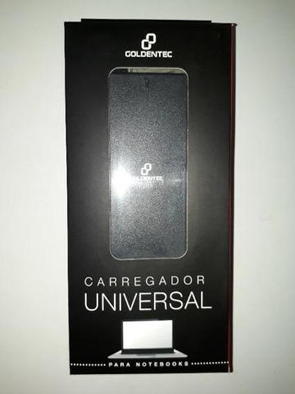 Carregador Universal 90w Para Notebooks Goldentec Gt80012p