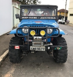 Jeep Willys 1974 Azul