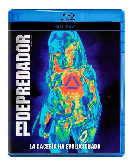 El Depredador 2018 Pelicula Blu-ray