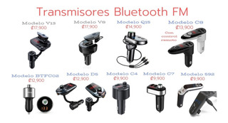 Transmisores Fm Bluetooth Para Tener Manos En Tu Carro