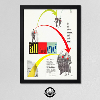 All About Eve Marilyn Monroe Cine Classic 30x40 Mad