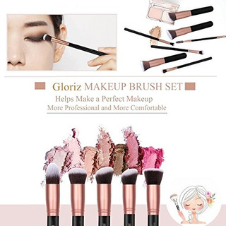 14 Brochas Profesionales Para Maquillaje Gloriz