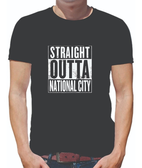 Playera Supergirl Straight Outta National City