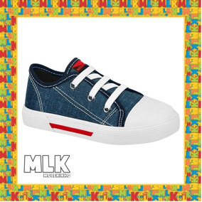 Tênis Casual Molekinho Infantil Jeans 2136212