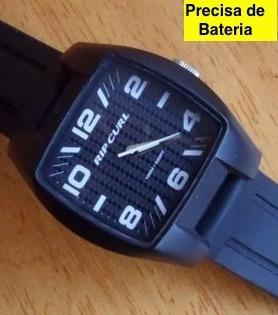 Relógio Rip Curl Pivot Precisa Bateria Pulseira Alternativa Assinada Veja Fotos