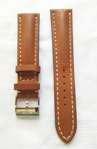 Breitling Xl Pulseira Original Nova Sem Uso. 24 Mm Xl