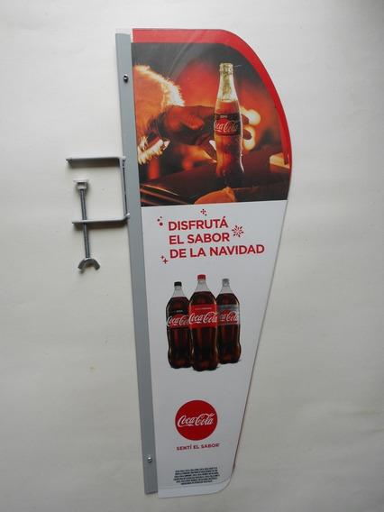 Cartel Publicidad Coca Cola - Foto Real De Producto