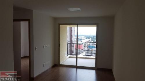 Imagem 1 de 12 de Apartamento Novo - Sacada Gourmet  - St17140