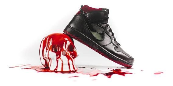 Tênis Nike Dunk Cmft Coffin Caixão Limitado Raro Caveira Skull Helloween