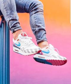 Zapatillas Importadas/ Nike Air Max 1 Parra/ Hombre Y Mujer