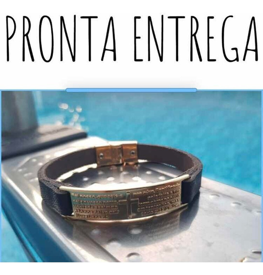 Kit Bracelete Misto - Masculino Em Couro 02 Peças.
