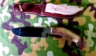 Cuchillo Campismo Caceria Pesca,artesanal.