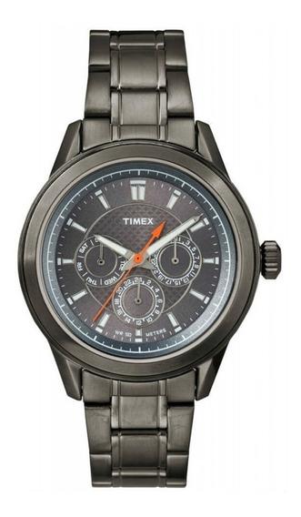 Relógio Timex Masculino Multifunção T2p180wkl/tn