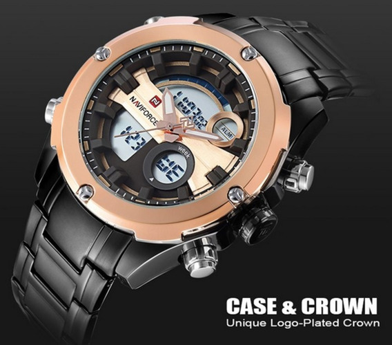 Relógio Masculino Esportivo Naviforce 9088 Original Militar