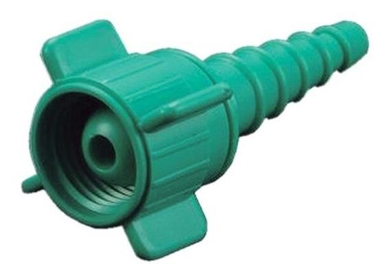 Conector Tuerca Plastico Para Oxigeno Niple Cola Raton