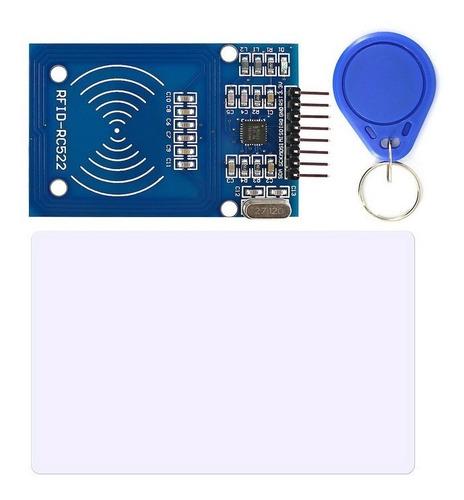 Modulo Rfid-rc522,+ Llavero + Tarjeta- Nfc, Arduino