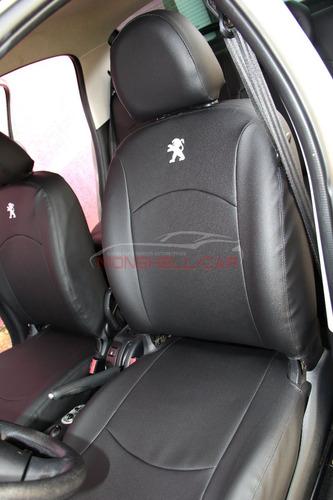 Imagem 1 de 10 de Capas De Bancos Couro Carro Peugeot 207 Xr 1.4 8v Flex 2012