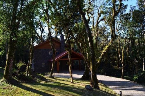 Casa Com 4 Dormitórios À Venda, 389 M² Por R$ 3.590.000,00 - O Bosque - Gramado/rs - Ca0030
