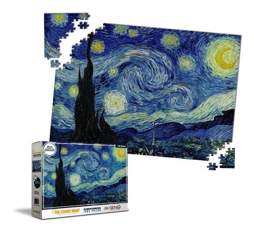 Rompecabezas 1000 Piezas Starry Night / Noche Estrellada