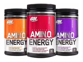 Amino Energy 30 Tomas 270 Grs Optimum Nutrition Sin Interes!